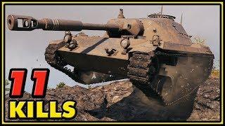 Spähpanzer Ru 251 - 11 Kills - World of Tanks Gameplay