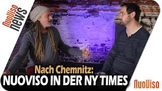 Nach Chemnitz: NuoViso in der New York Times! - Frank Stoner im Gespräch mit Frank Höfer