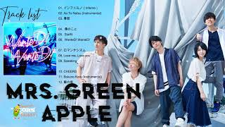 Mrs  Green Appleメドレー  Mrs  Green Appleベストソング  Best Songs Of Mrs  Green Apple