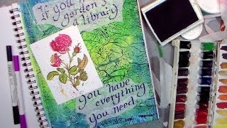 Deli Paper Ideas for Art Journaling