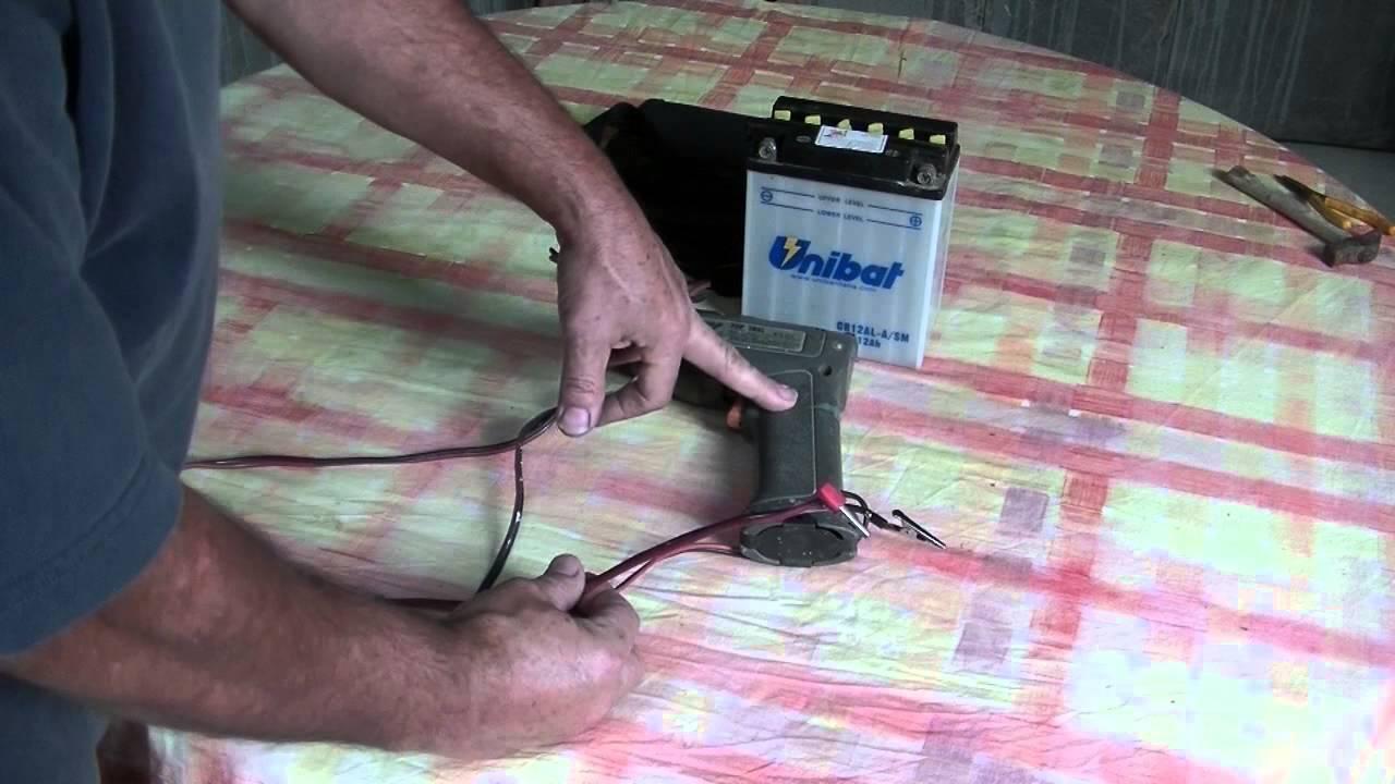 Schema Elettrico Trapano Reversibile : Trapano a batteria semplice modifica youtube