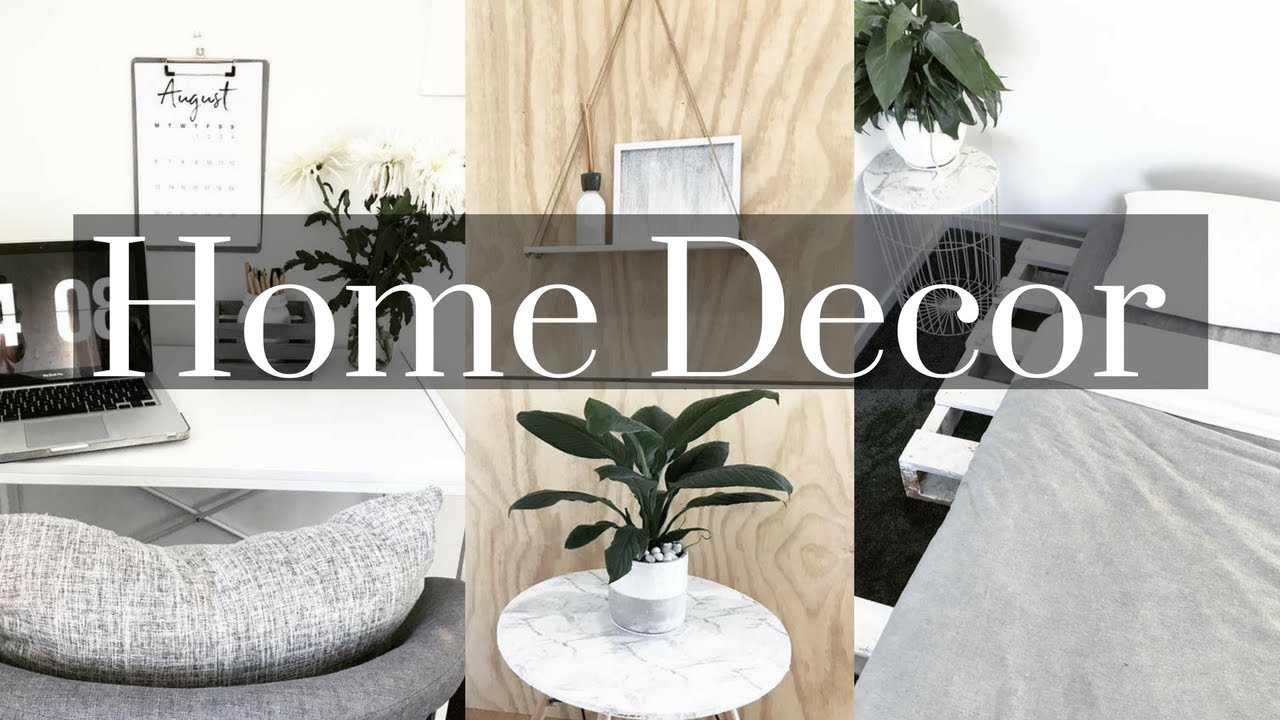DIY AFFORDABLE HOME DECOR IDEAS + Kmart tricks - YouTube