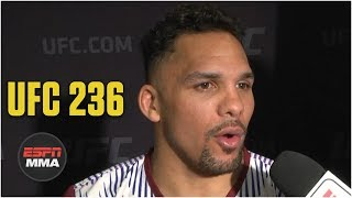 Eryk Anders will go right after Khalil Rountree | UFC 236 | ESPN MMA