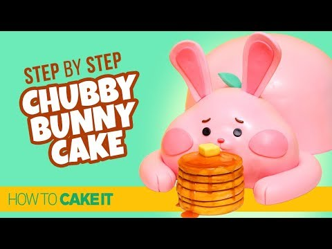 Chubby Bunny Cake from Wreck It Ralph 2 by Joni Kwan | How To Cake It Step By Step