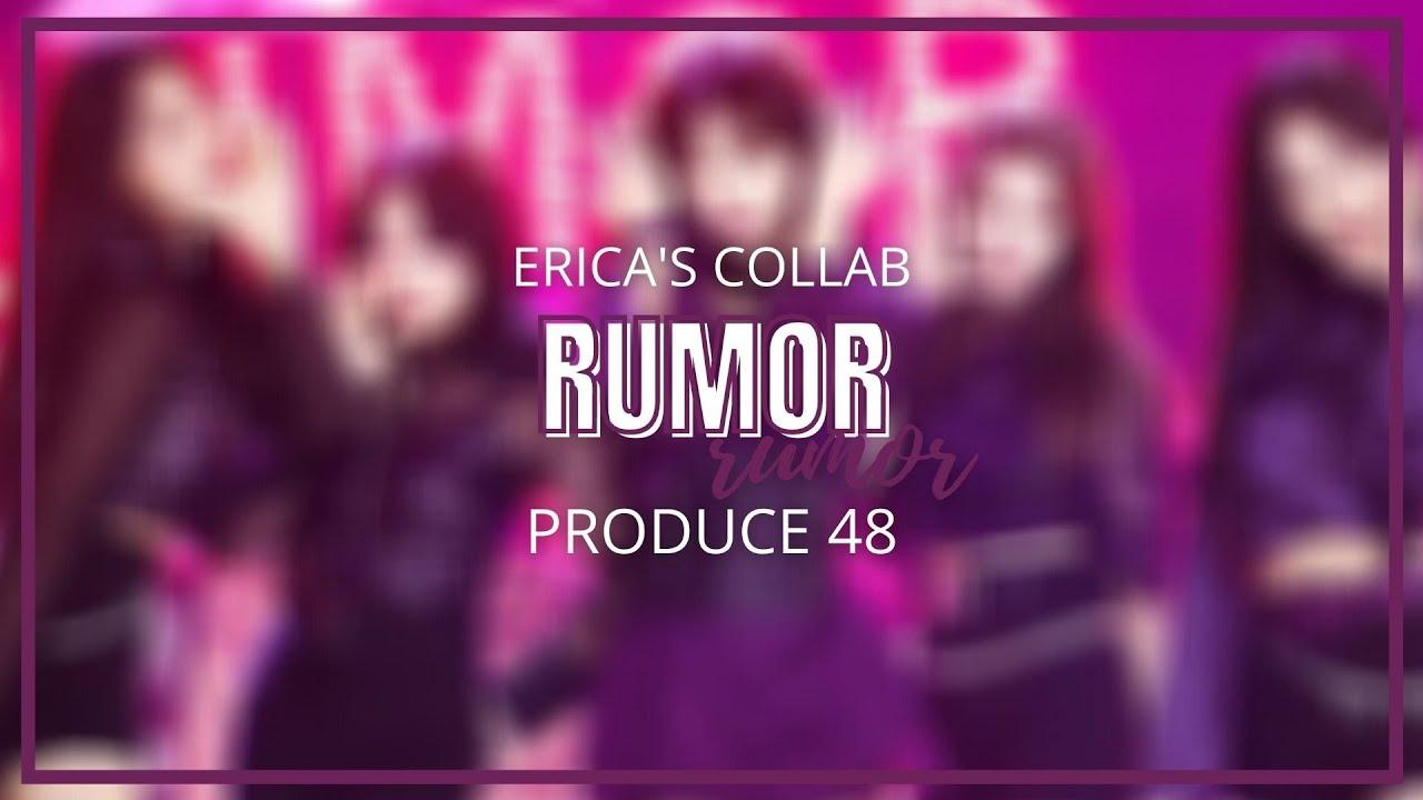 【COLLAB】 RUMOR - Nation's Hot Isuue (PRODUCE48) +acapella