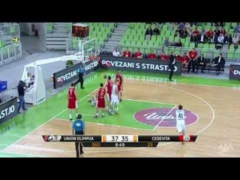 ABA Liga 2014/15, Round 02 match: Union Olimpija - Cedevita