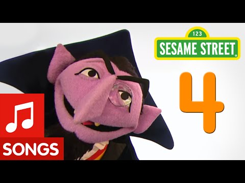 Sesame Street: Number 4 Number of the Day