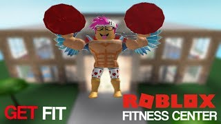 WORLDS STRONGEST ROBLOX PLAYER EVER! l ROBLOX FITNESS CENTER