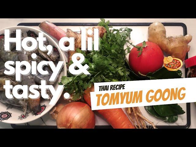 Tomyum Goong Recipe | Resepi Tomyum Goong | Creamy