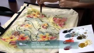 Pintura em Tecido Molhado P 2/2 – Ecobag