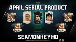 24 Billion Kaka WB +5! Crazy Pack Opening - April Serial Product! - FIFA ONLINE 3 강화성공! เปิดแพค!