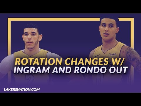Lakers Nation NewsFeed: What Happens to the Rotation Now that Ingram and Rondo Are Suspended