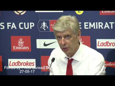 Arsene Wenger reaction Arsenal vs Chelsea FA CUP Final