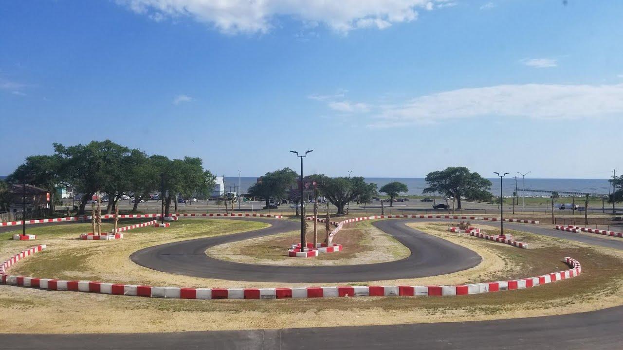 The Finish Line Go Kart Track Biloxi Ms Youtube