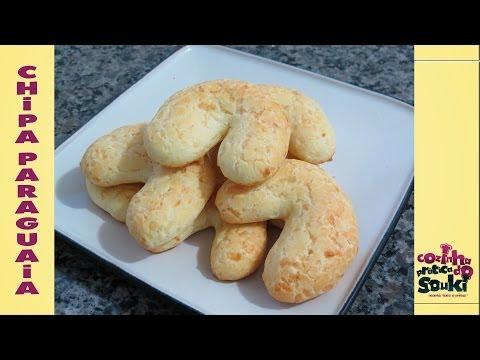 Chipa paraguaia / Biscoito de queijo - Receita fácil e prática