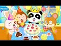 "Baby Panda's Birthday Party ""BabyBus Kids Educational Education Games"" Android Gameplay Video"