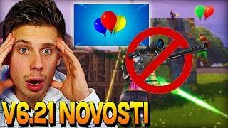 Fortnite Update V6.21 Novosti