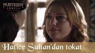 Hatice Sultan'dan Hürrem'e Tokat - Muhteşem Yüzyıl 64.Bölüm