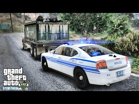 GTA 5 MODS LSPDFR 1069 - THE ALMOST ONE HOUR PATROL!!! (GTA 5 REAL LIFE PC MOD)