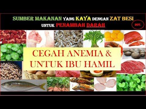 Makanan Penambah Darah Sumber Zat Besi Youtube