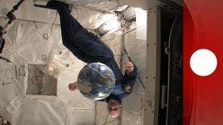Schwereloser Sport und gebrauchter Kaffee: Astronauten-Leben auf der ISS - space