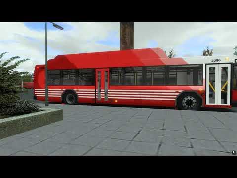 OMSI 2 Man Caetano CNG ZF Ecolife vs 2020 Gillig BRT CNG  