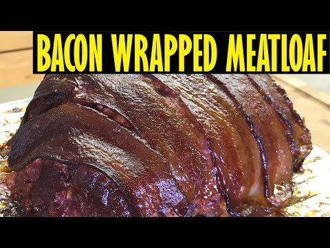 Bacon Wrapped Smoked Meatloaf On The Oklahoma Joe's Highland Smoker