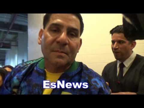 Angel Garcia We Were Robbed Wants Danny To Retire Tonight EsNews Boxing