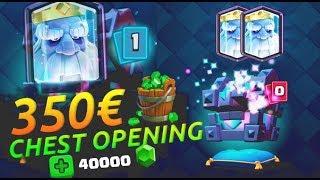 14 LEGENDARIES!! 350 EURO AAN KISTEN OPENEN!!