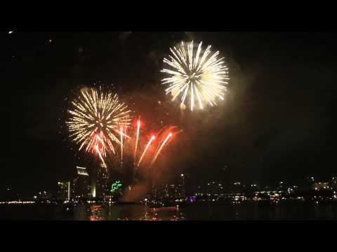 4th of July San Diego Bay Fireworks