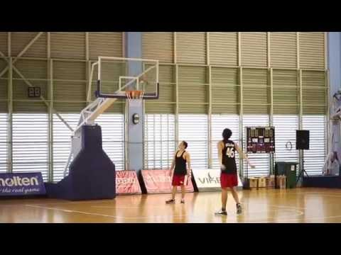 Hoops with Singapore Slingers Desmond Oh