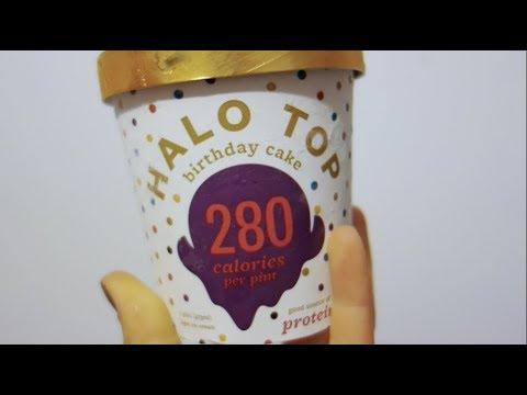 Halo Top Birthday Cake 280 Cal Pint