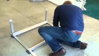 Zonnepanelen monteren op een plat dak in slechts 2,30 minuten