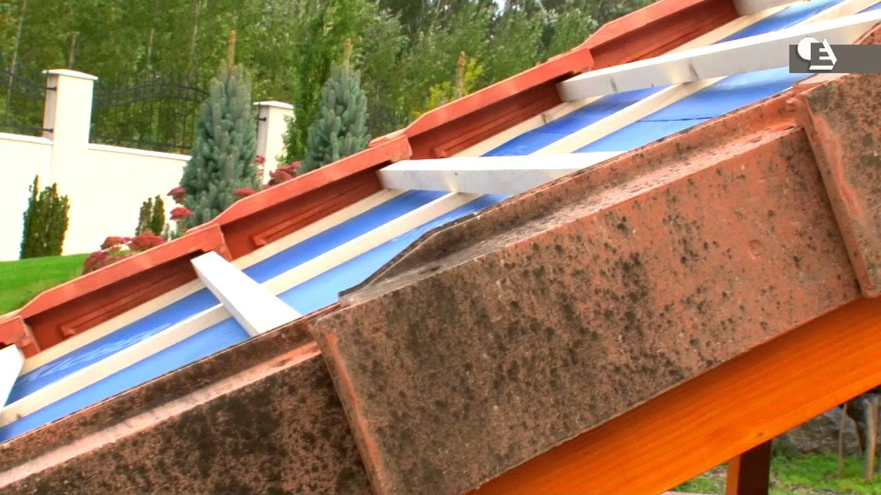 C mo instalar remates laterales rectos en cubiertas - Chimeneas de barro ...