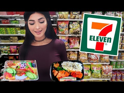 Only Eating 7-ELEVEN FOOD in Japan