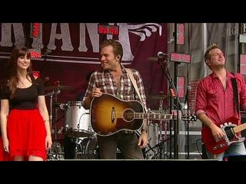 Gloriana rocks the All-American Summer stage