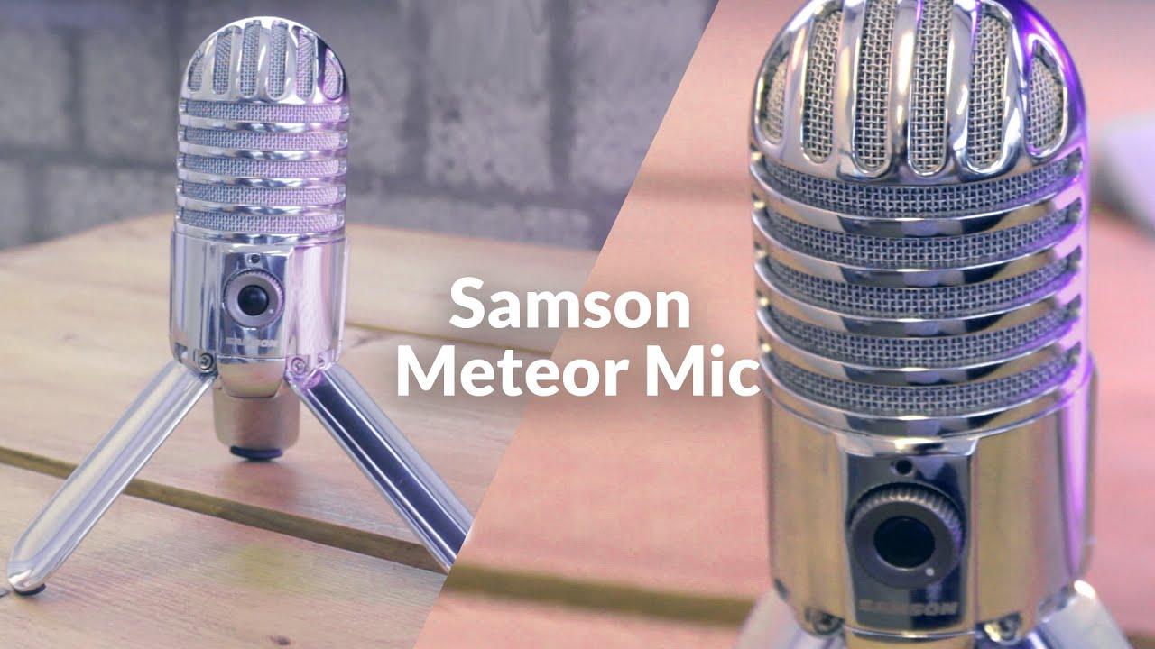 microfoon voor gamers en skypers samson meteor mic review youtube. Black Bedroom Furniture Sets. Home Design Ideas