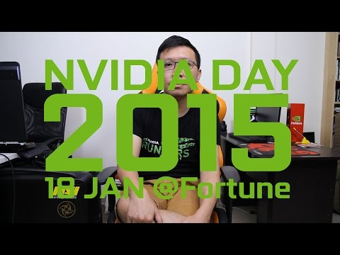 18 มกราคม 2558 งาน NVIDIA DAY 2015 เทศกาลแจกการ์ดจอจ้า