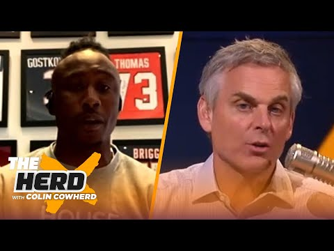 Packers wasted Aaron Rodgers' career, Seahawks can rein in AB — Brandon Marshall | NFL | THE HERD