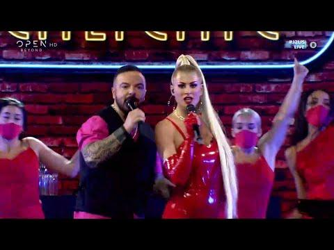 Ευρυδίκη Παπαδοπούλου και Τριαντάφυλλος τραγουδούν Caliente | J2US | OPEN TV