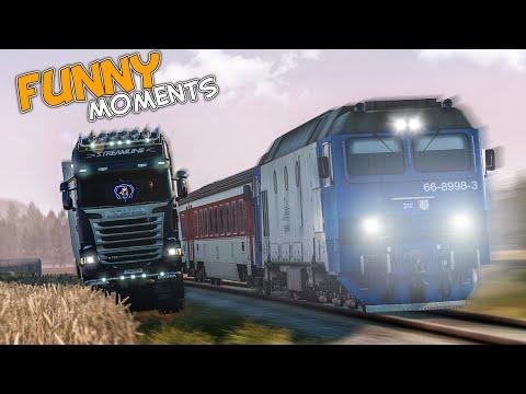 EP.#47 - Funny & Random Moments - Euro Truck Simulator 2