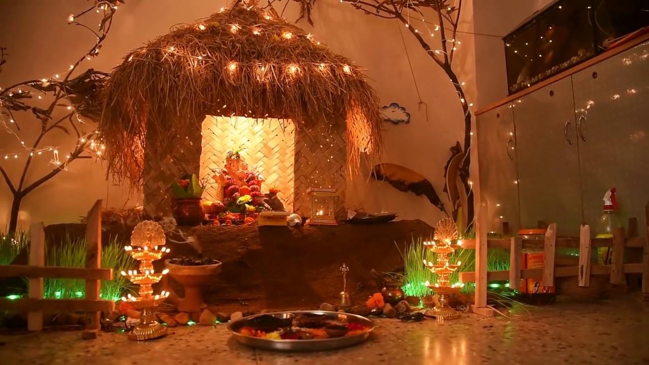 Best Ganpati Decoration Idea At Home Award Winning
