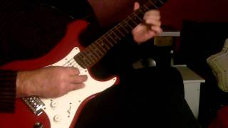 Ye Shaam Mastani Guitar Instrumental  {:-)