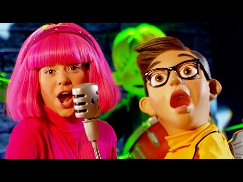 Lazy Town Full Episode Purple Panther Song The World Goes Round and Round | Lazy Town Songs