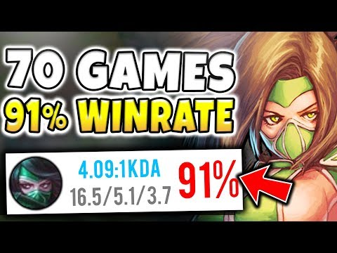 NEW HIGHEST RANK ACHIEVED!! 91% WINRATE / 70+ GAMES CHALLENGER CLIMB! - Unranked to Rank 1