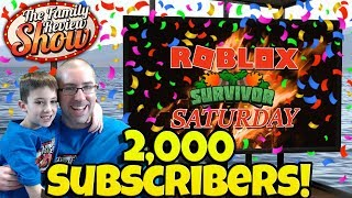 Survivor Saturday Roblox Stream 🎉 Celebrating 2,000 Subs!!!
