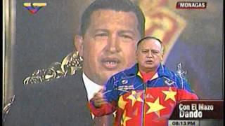 Diosdado: Almagro es un vocero de la oposición venezolana