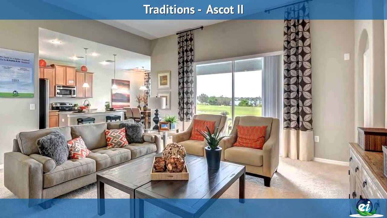 Lennar Orlando's Ascot II Model In Traditions (Active