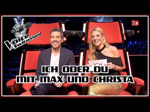 The Voice of Switzerland 2020: ICH oder DU - mit den Hosts Christa und Max