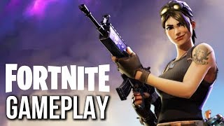 FORTNITE MY FIRST GAMEPLAY SECRET SCENE! PS4/XBOX ONE PC (2018)